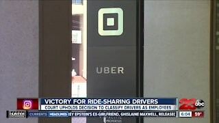 California court says Uber, Lyft drivers are employees