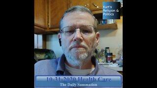 20201031 Health Care - The Daily Summation