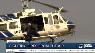 Wildfire season is underway, air crews prepare