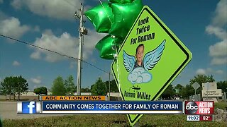 Community comes together for Roman