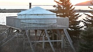 Have you heard of a yurt? It could be your next winter getaway