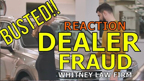 FRAUD AT CAR DEALER! BUSTED! FORGED CONTRACT, DEALERSHIP PAYS $35,000 SETTLEMENT! The Homework Guy