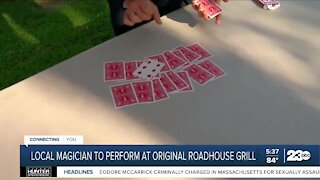 Local magician to perform at Original Roadhouse Grill