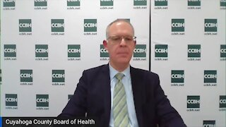 Cuyahoga County Board of Health holds COVID-19 briefing