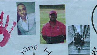 Elyria High School football team honors coach killed in fire
