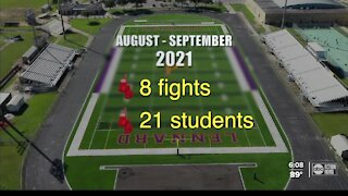 Fight page on social media shows violent attacks at Tampa area high school