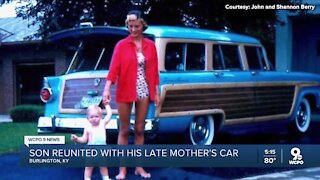 'Trip down memory lane': Union man buys back his late mother's car
