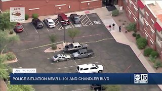Police situation at Chandler hotel