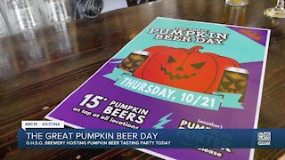 Happening today: Try 20+ pumpkin beers at OHSO Brewery locations