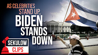 As Celebrities Stand Up for Cuba, Biden Stands Down