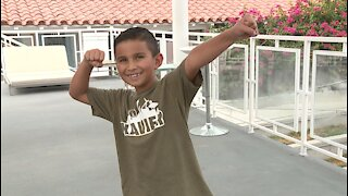 Local boy battles cancer, helps kids with cancer