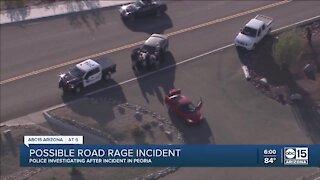 Road rage shooting leaves 1 injured in Peoria