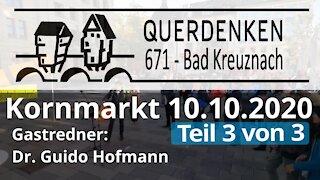 Rede Dr. Guido Hofmann 10.10.2020 Querdenken 671 (Teil 3 von 3)