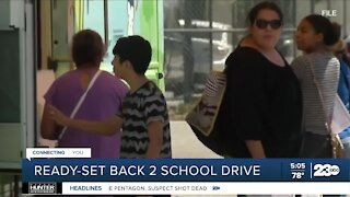 Valley Strong Ready-Set Back 2 School Drive