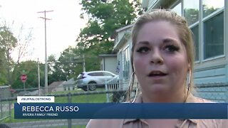 Jamestown parades donations to family who lost everything in house fire