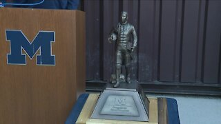 Michigan, Northwestern playing for George Jewett Trophy