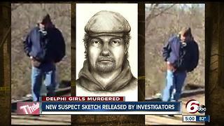 Police release sketch of Delphi suspect
