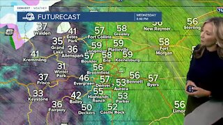 Cool, breezy and sunny in Denver this afternoon