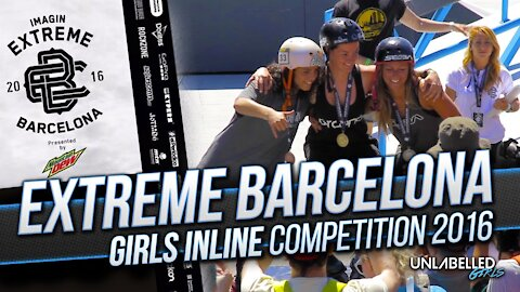 Girls Inline Skating Contest at Extreme Barcelona 2016