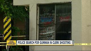 Clerk killed in Tampa store robbery
