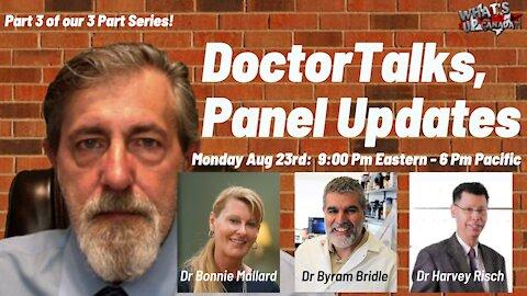 #DoctorTalks Panel 3 of 3: Top Canadian Doctors Talking Vaccines