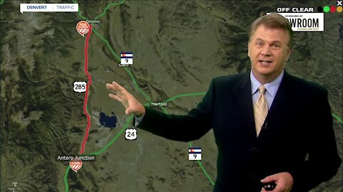 US 285 now closed for 3 months for bridge replacement project
