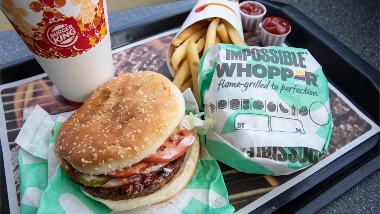 Burger King Offering Meatless Burger In Europe