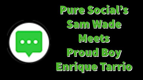 The Last Interview with Sam Wade Meeting Enrique Tarrio