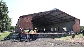 SOUTH AFRICA - KwaZulu-Natal - KZN Church collapses (Video) (2jK)