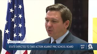State expected to take action against Palm Beach County School Board