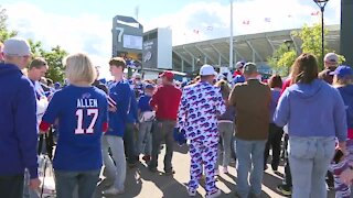 Bills play second home game of season, fans required to be partially vaccinated