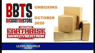 BBTS Transformers Unboxing October 2020