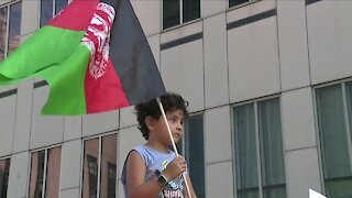 Cleveland residents hold rally supporting Afghan community