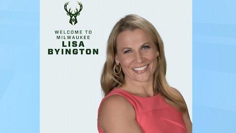 Milwaukee Bucks Name Lisa Byington New Television Announcer
