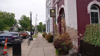 City of Mason voted to vacate the alley between BAD Brewing and Kean's Store