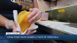 LOCAL FOOD TRUCK SHARES A TASTE OF VENEZUELA