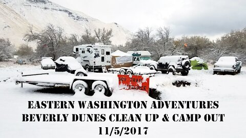 2017 Beverly Dunes Clean Up and Camp Out - 11/05/17