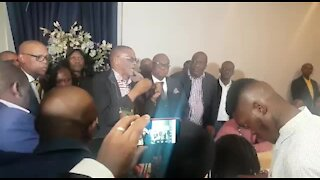 SOUTH AFRICA - Johannesburg - New Joburg Mayor - Geoff Makhubo (Video) (h47)