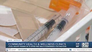 Community health and wellness clinics