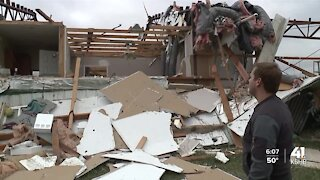 Family urges caution from scammers after home destroyed in storm