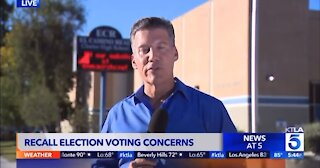 California Recall Voters Show Up To Vote And Are Told They Already Voted