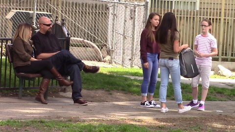 Social experiment: How will people react when they see bullying?