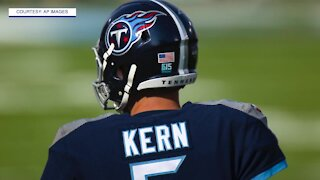 'That's my boy, and he's in the NFL', Kern family reflects on son's punting journey