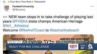 Treasure Coast football ready for big challenge
