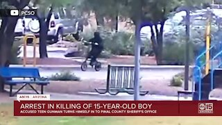 Arrest made in killing of 15-year-old boy