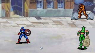Captain America and The Avengers - Arcade