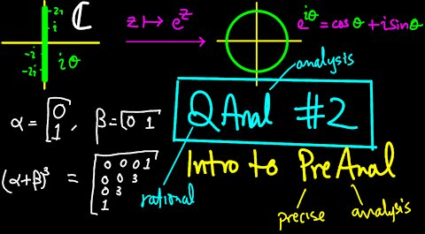 The heart of complex analysis and an intro to PreAnal | QAnal 2