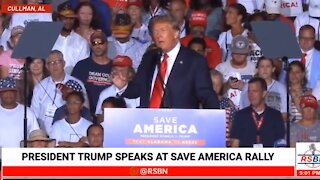 🔴LIVE: President Donald Trump Rally LIVE in Cullman, AL 8/21/21