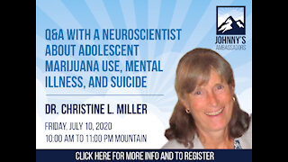 Q&A with a Neuroscientist About Adolescent Marijuana Use, Mental Illness, and Suicide