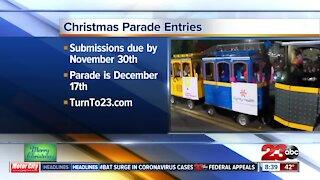 Christmas Parade still accepting entries